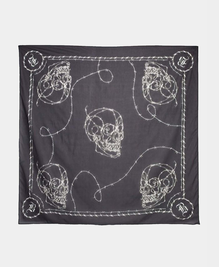 Barbed Skull Scarf
