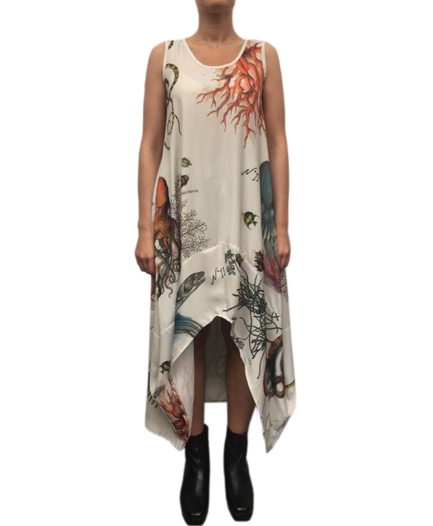 Botanical Parachute Dress