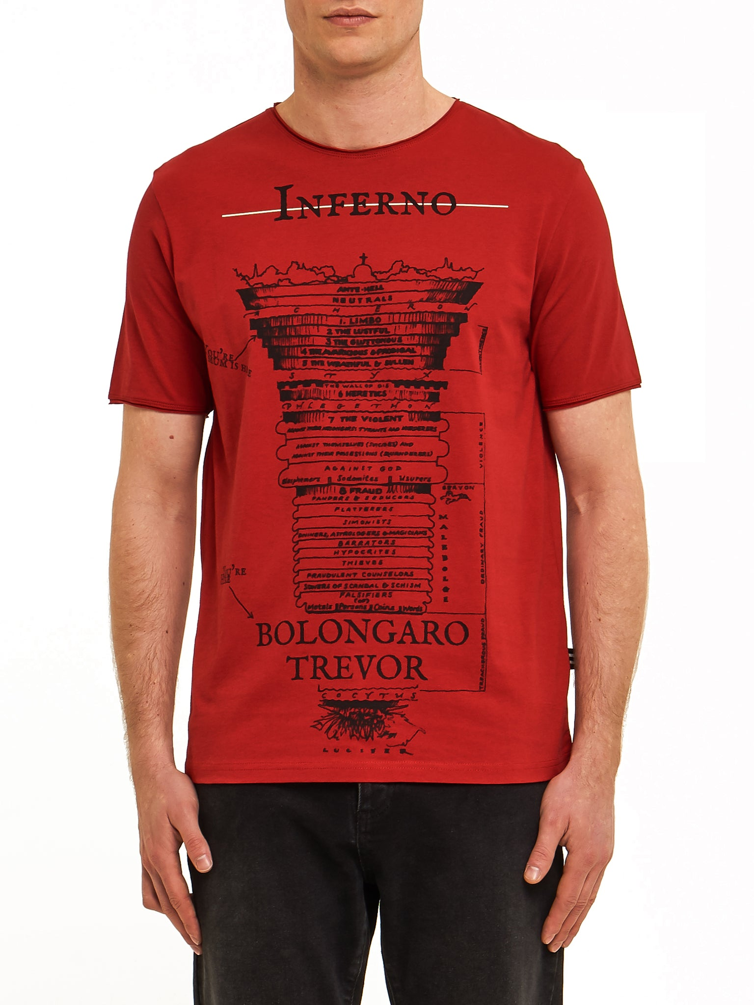 Inferno Tee - Red
