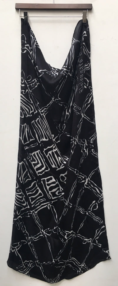 Black Graphic Pattern scarf