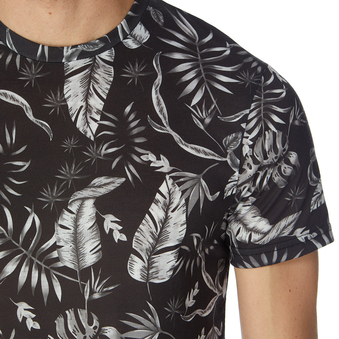 Tropical B&W (Palmy Mono) T-Shirt