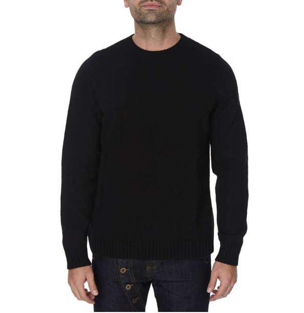 Black Earthling Knit Jumper