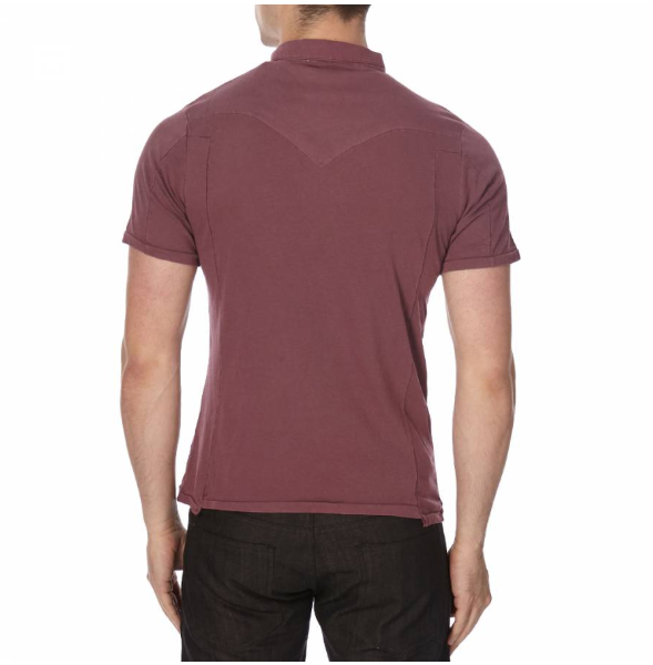 Burgundy Base Polo