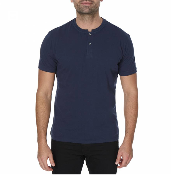 Navy Oslo Polo Top
