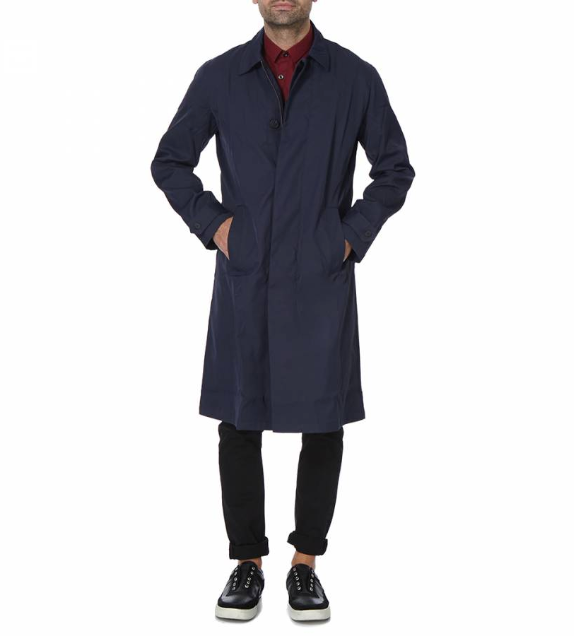 Maxtrap Navy Coat
