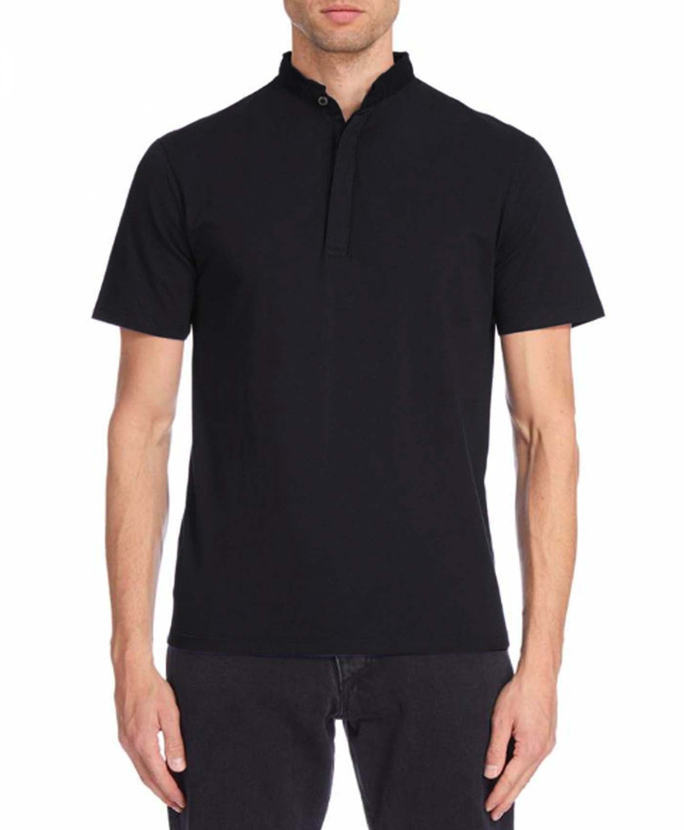 Black Bowie Polo