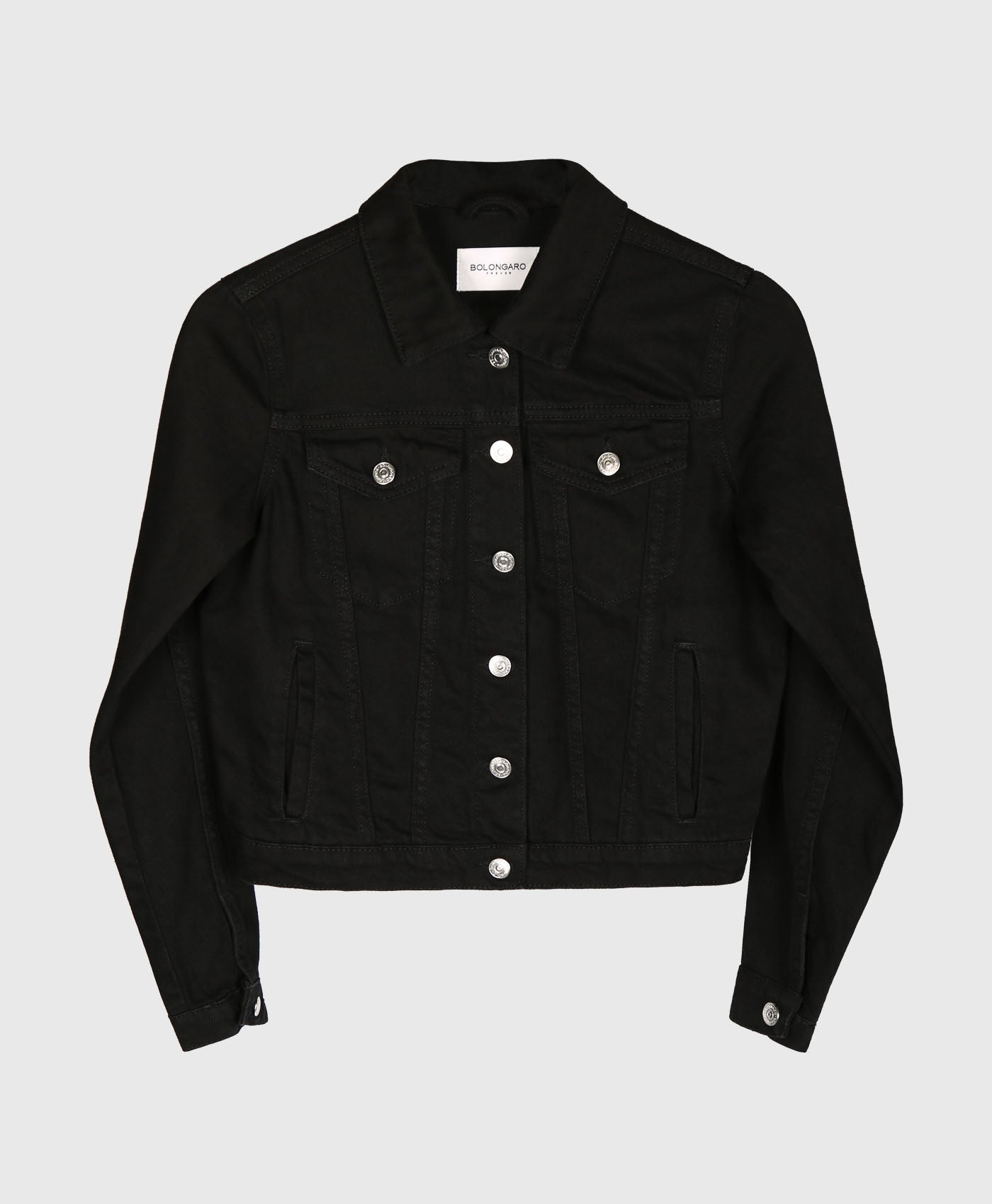 Black Sierra Denim Jacket