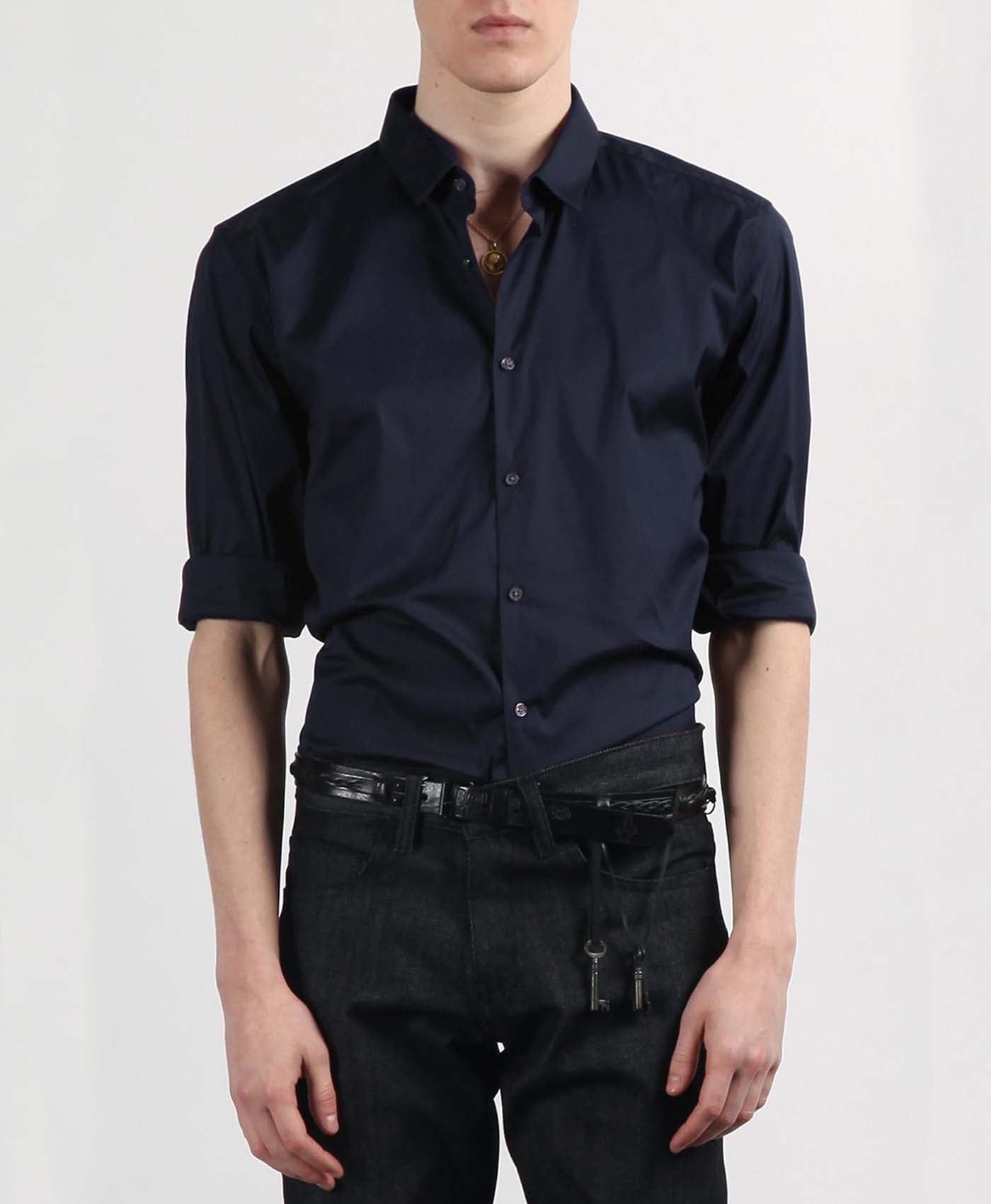 Navy Edward Shirt