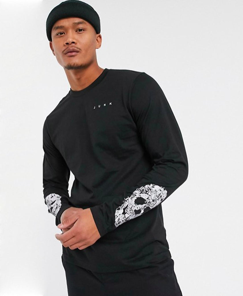 Junk Skull Long Sleeve Top