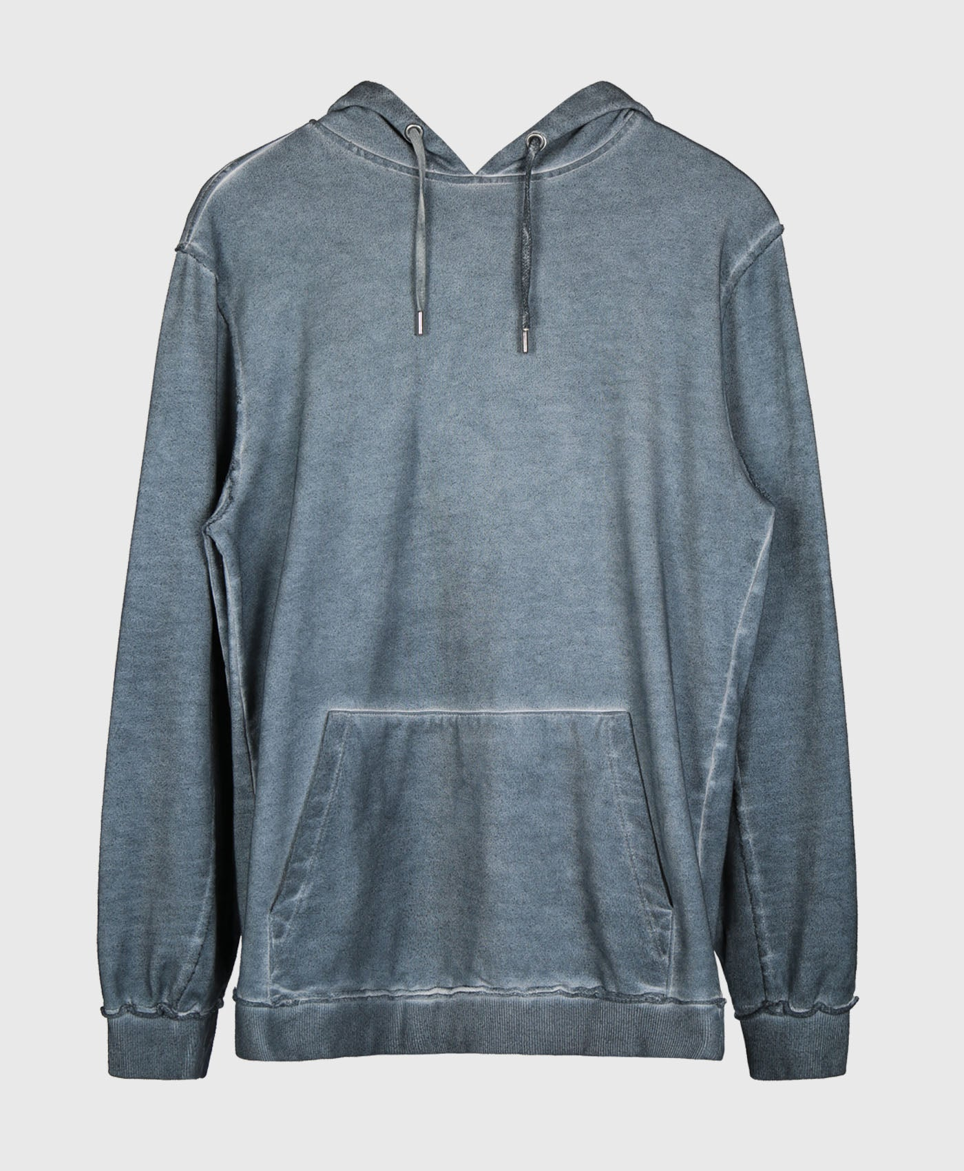 Raw Edge Acid Wash Hoodie