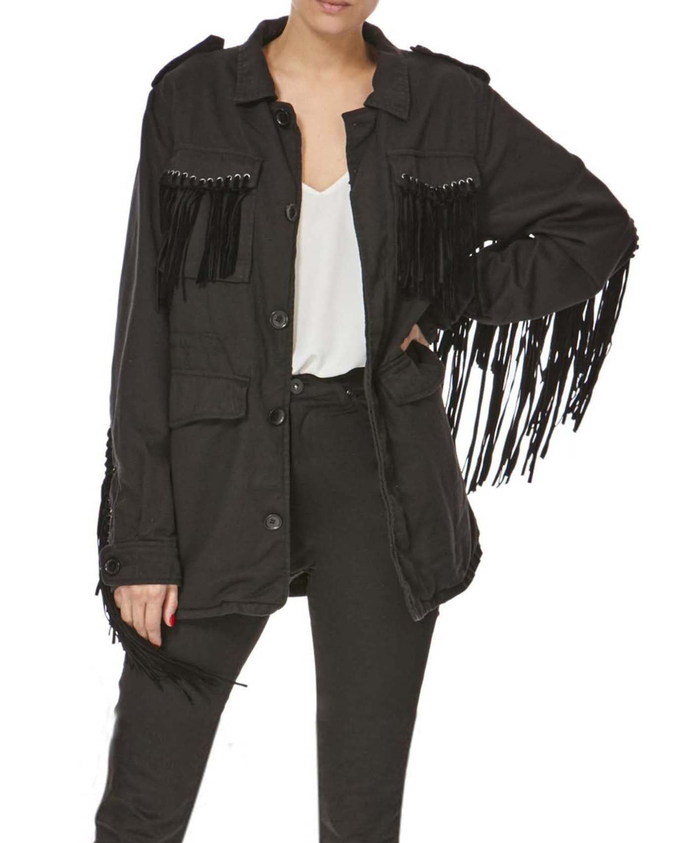Rasper Fringed Jacket