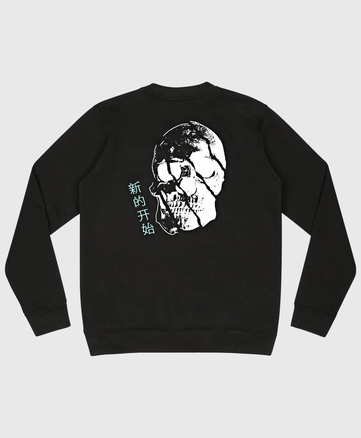 Split Skull Crew Neck Sweat