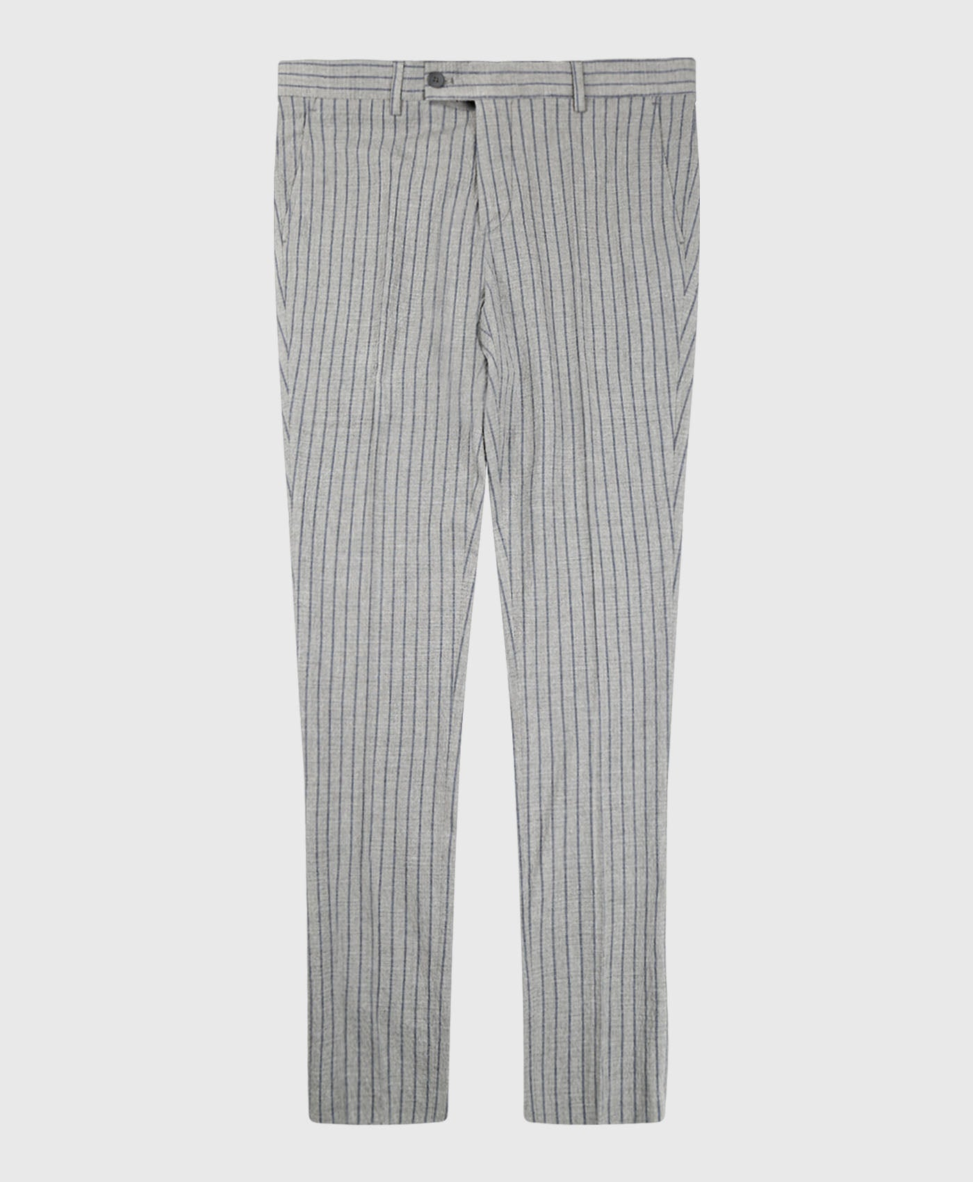 Stripe Seesucker Suit Trousers