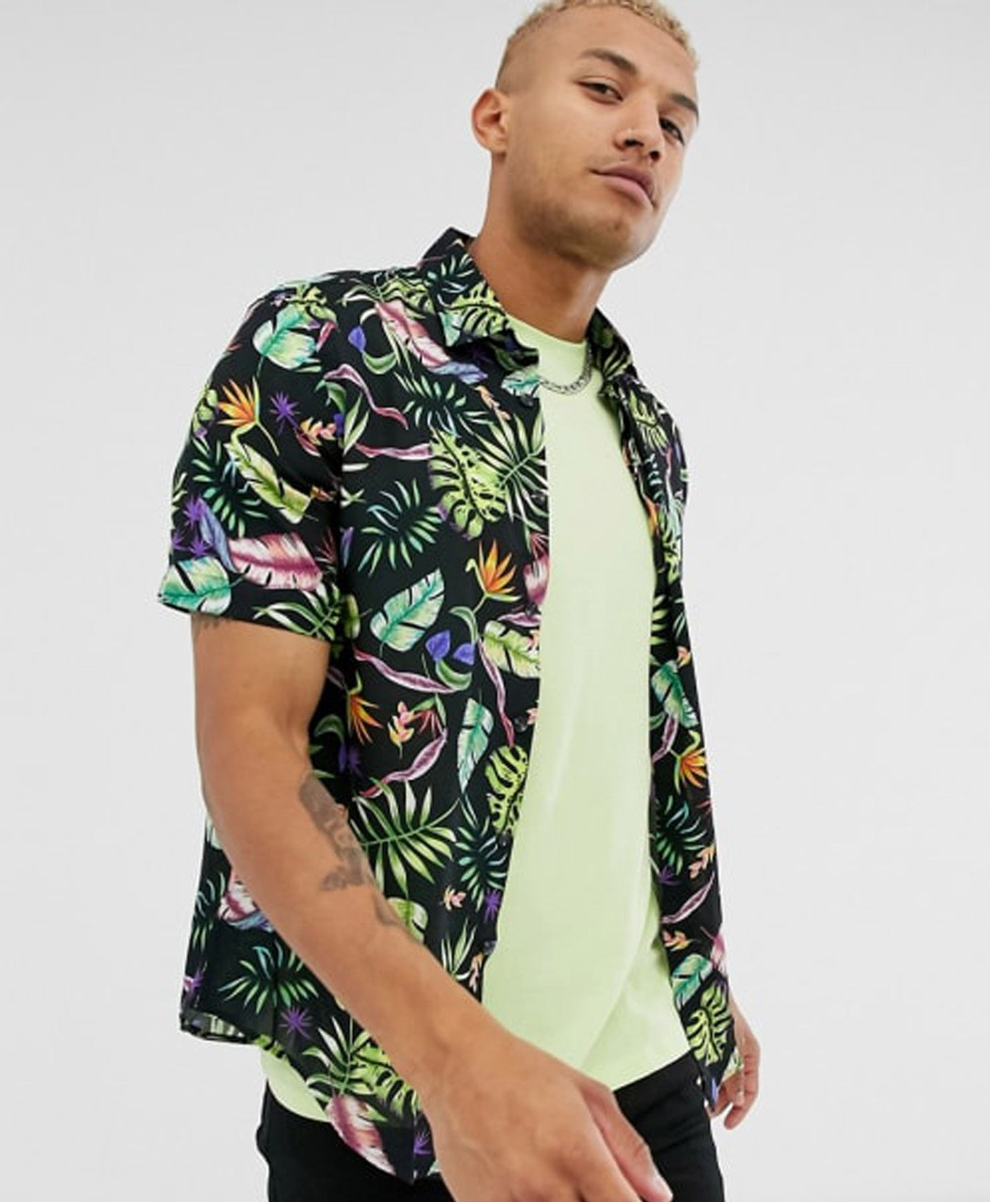 Tropical Shirt Short Sleeve
