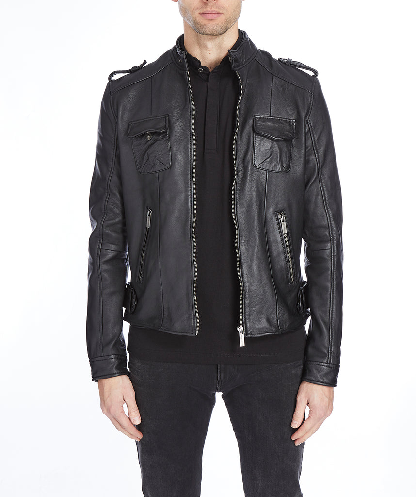 Weather Leather Jacket