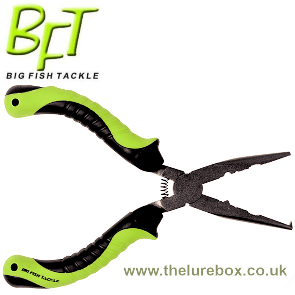 BFT Split Ring Pliers - With Cutter - The Lure Box