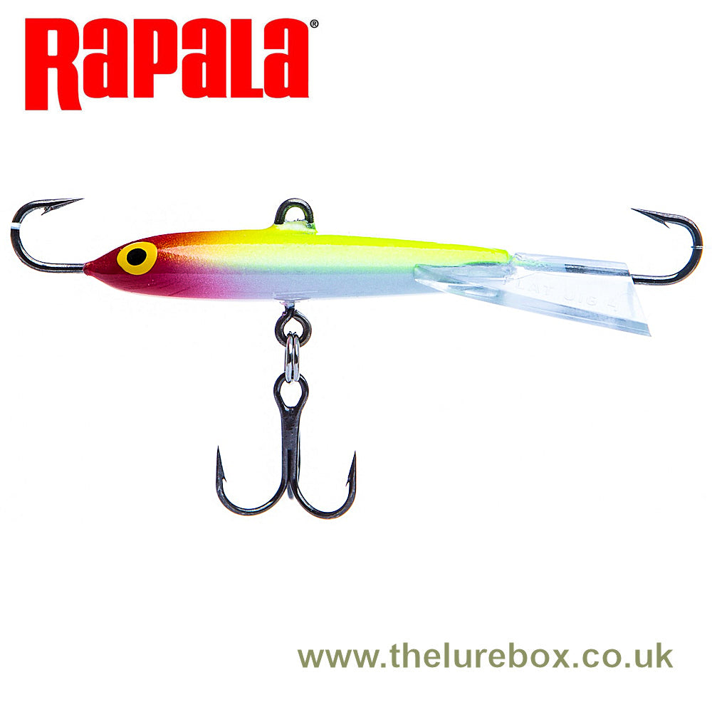 "Rapala Flat Jig ""Ice Jig"" - 6cm - The Lure Box"