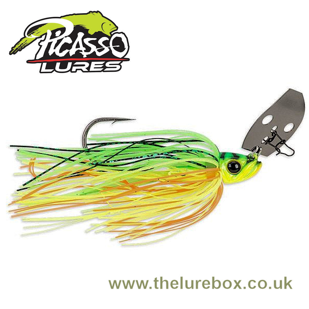 Picasso Lures Aaron Martens Shock Blade Vibrating Jigs - 3/8oz