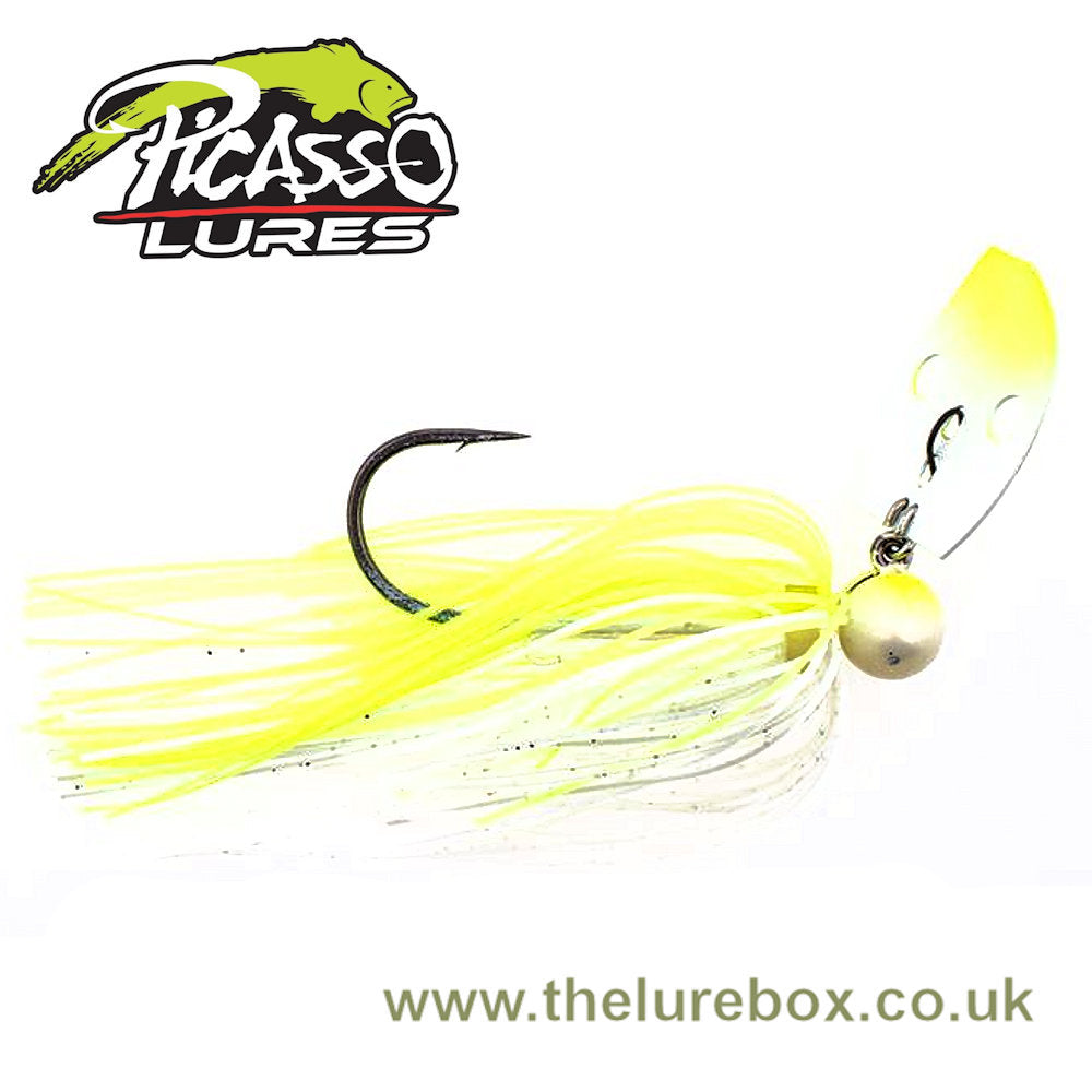 Picasso Lures Aaron Martens Shock Blade Tungsten Knocker Vibrating Jigs - 3/4oz