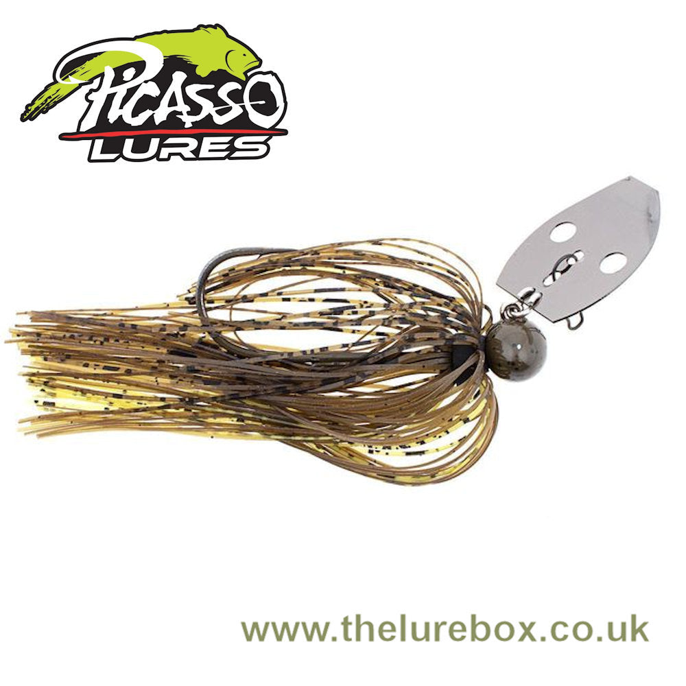 Picasso Lures Aaron Martens Shock Blade Tungsten Knocker Vibrating Jigs - 3/8oz