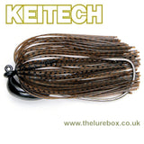 Keitech Rubber Jig Model 3 - Tungsten - The Lure Box