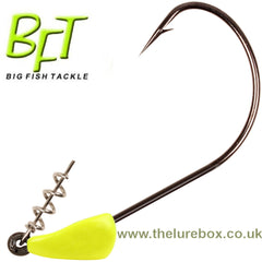 BFT Triple S Jighead Hot Yellow