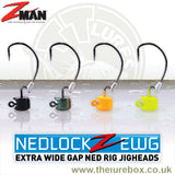 Z-man TT Lures Nedlock EWG Ned Rig Jig Heads - Chartreuse