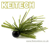 Keitech Mono Spin Weedless Tungsten Jig 2.6g - The Lure Box