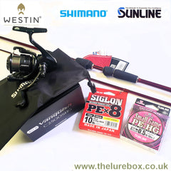 Westin W6, Shimano & Sunline Rod Reel Braid Combo Deals