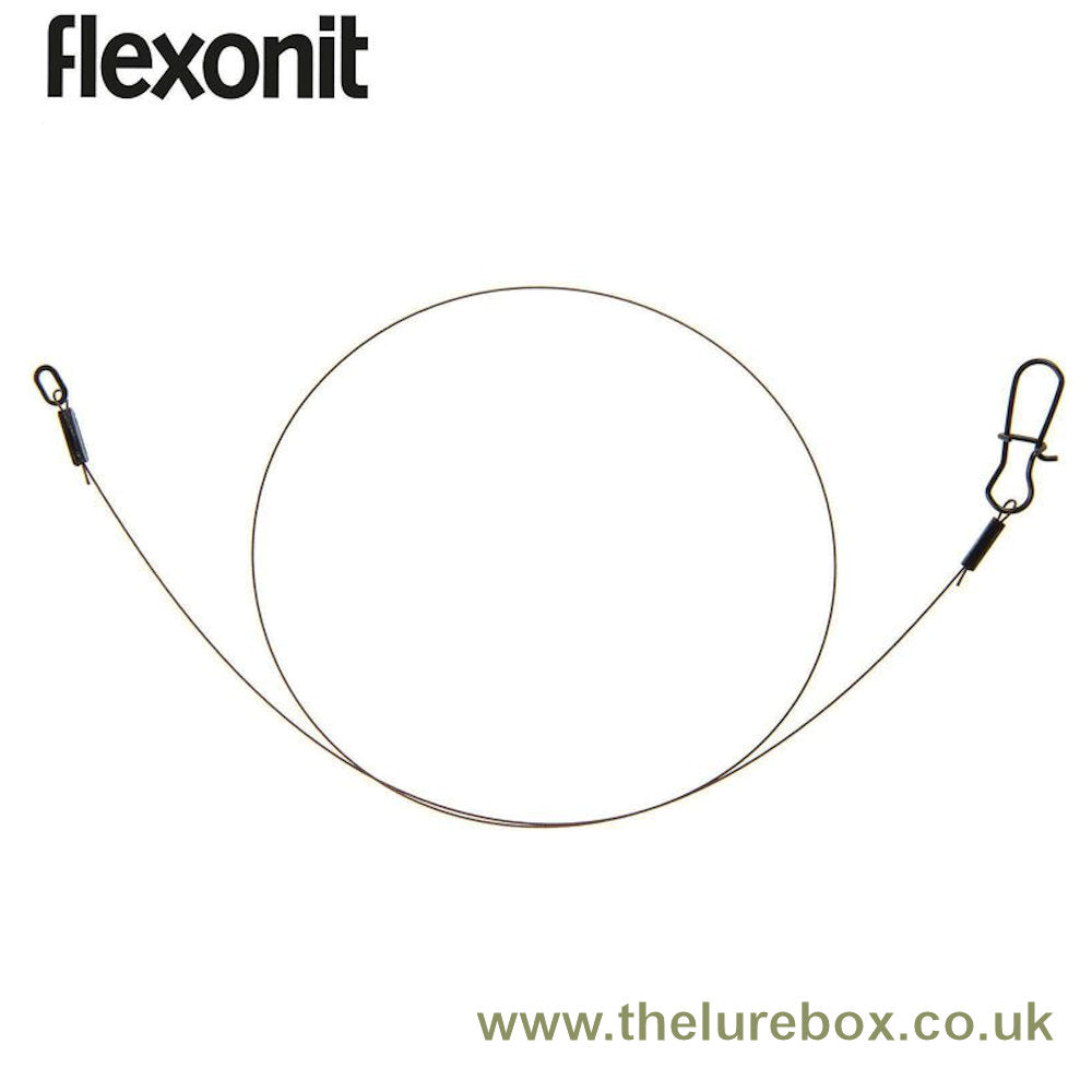 Flexonit Pre-made 7 x 7  Stainless Steel Leader Trace - 30cm - The Lure Box