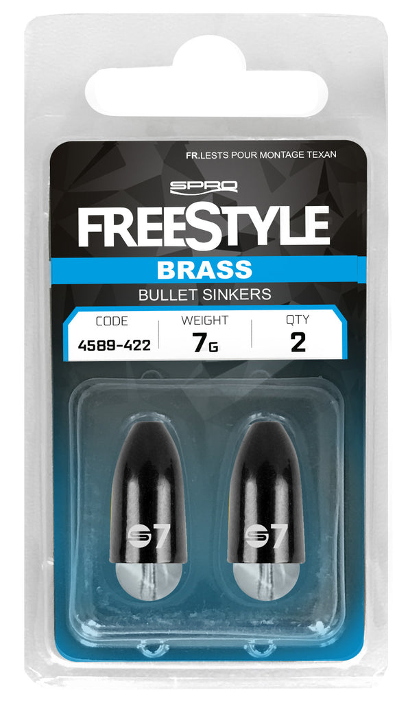 SPRO Freestyle Texas & Carolina Brass Bullet Sinkers & Beads