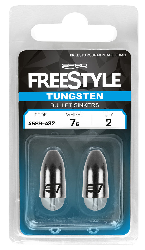 SPRO Freestyle Texas & Carolina Tungsten Bullet Sinkers & Beads