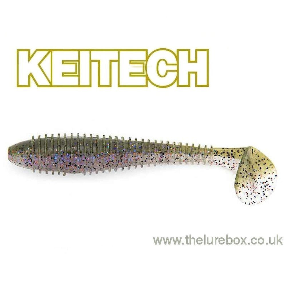 "Keitech Fat Swing Impact 3.8"" - The Lure Box"