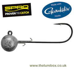 SPRO Gamakatsu Jig 90 HD Round Jighead Black Nickel Hook