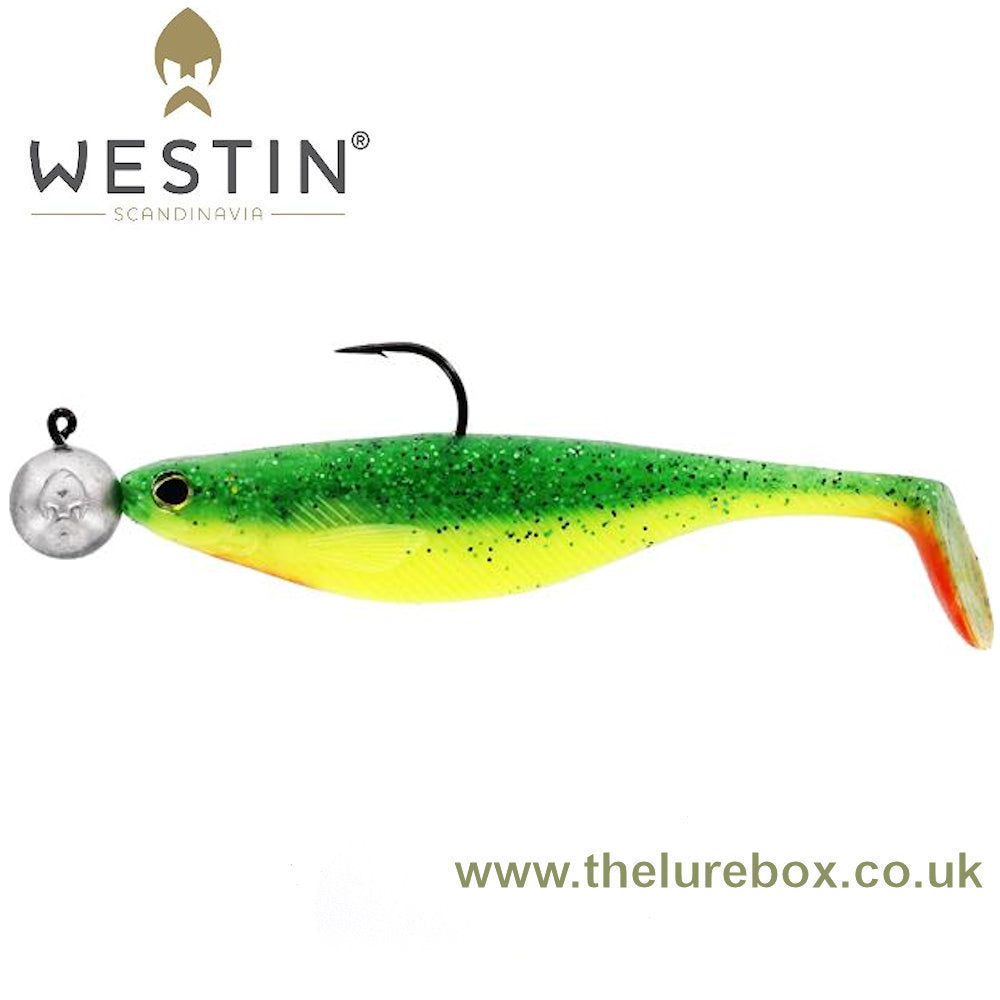 Westin Shad Teez 9cm Rigged 'N Ready - The Lure Box