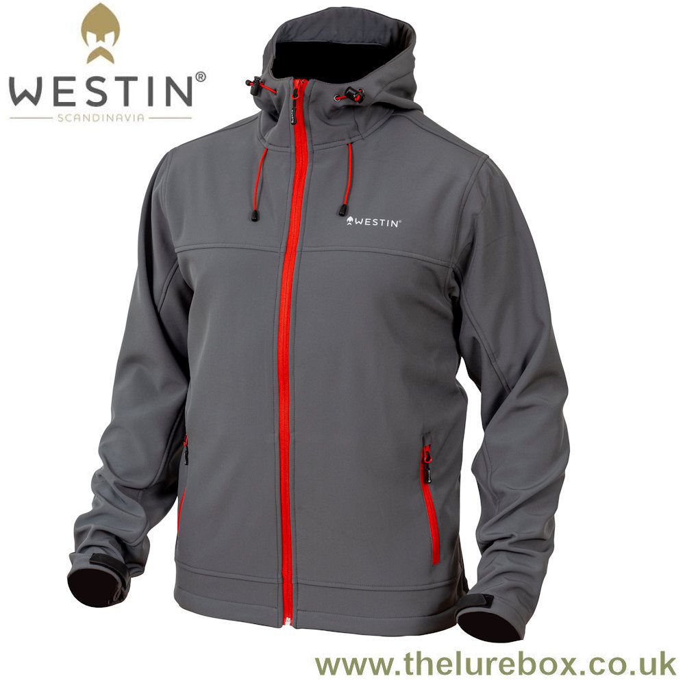 Westin W4 Softshell Jacket - Steel Grey - The Lure Box