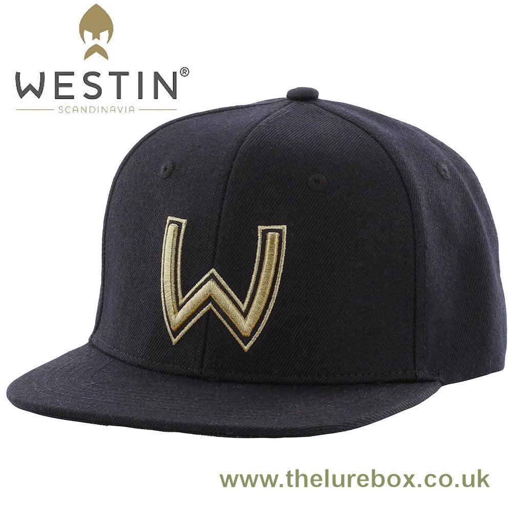Westin Viking Helmet Cap One Size Fits All - Black & Gold - The Lure Box