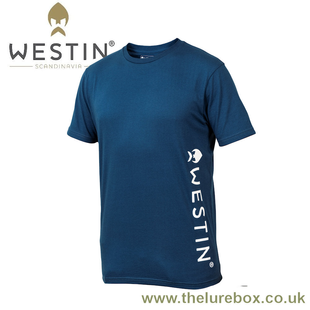 Westin Pro T-Shirt Navy Blue - The Lure Box