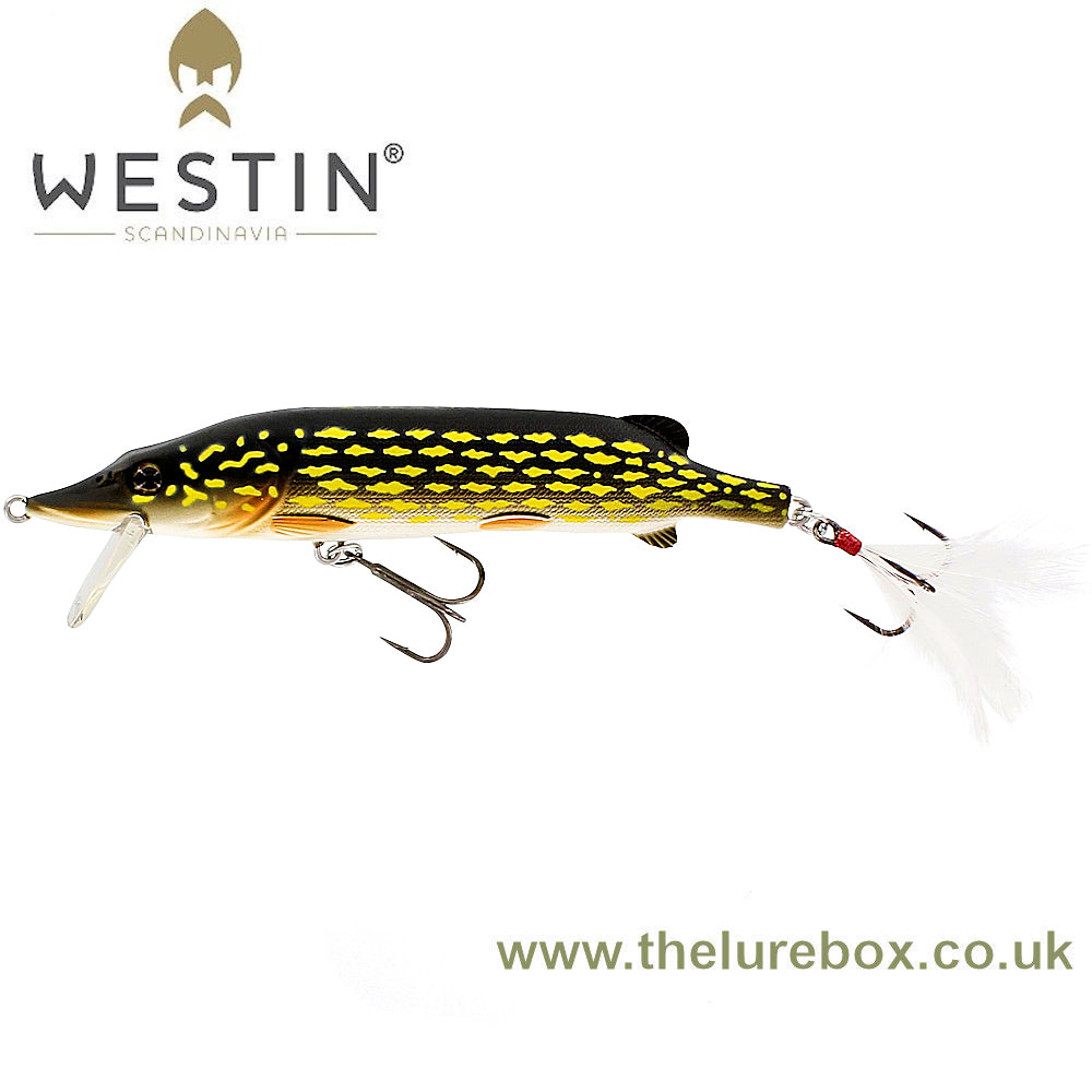Westin Mike The Pike Hard Lure (HL) - 14cm - The Lure Box