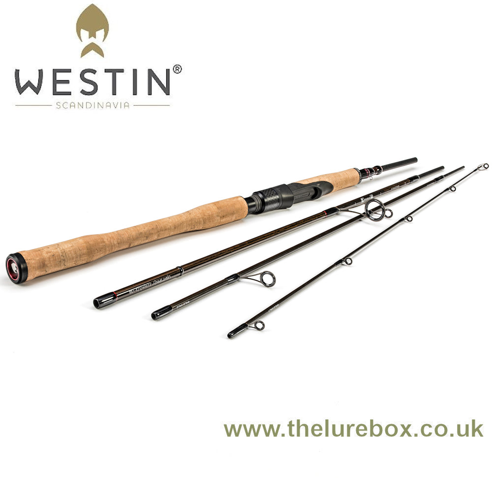 "Westin W4 Light Spin 4 Piece Travel Rod - 9'6"", L 3-15g, 89cm packed"
