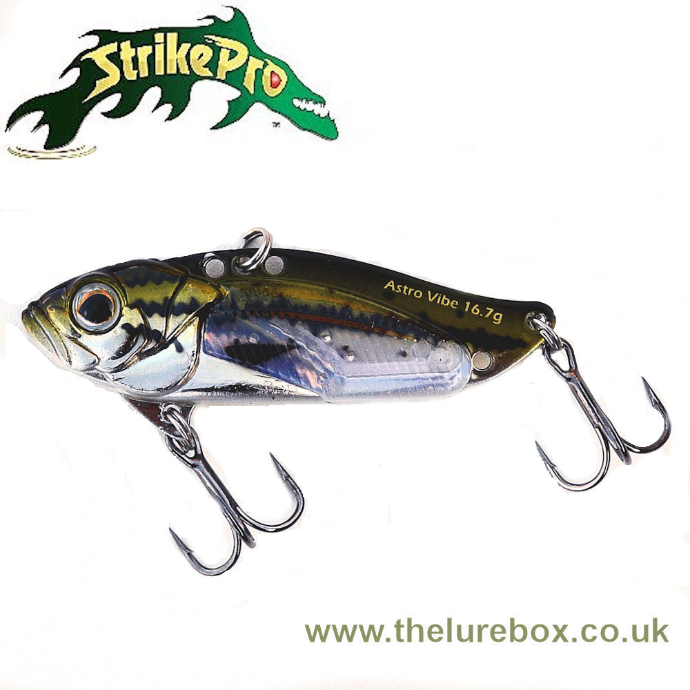 Strike Pro Astro Vibe UV 5,5cm - The Lure Box