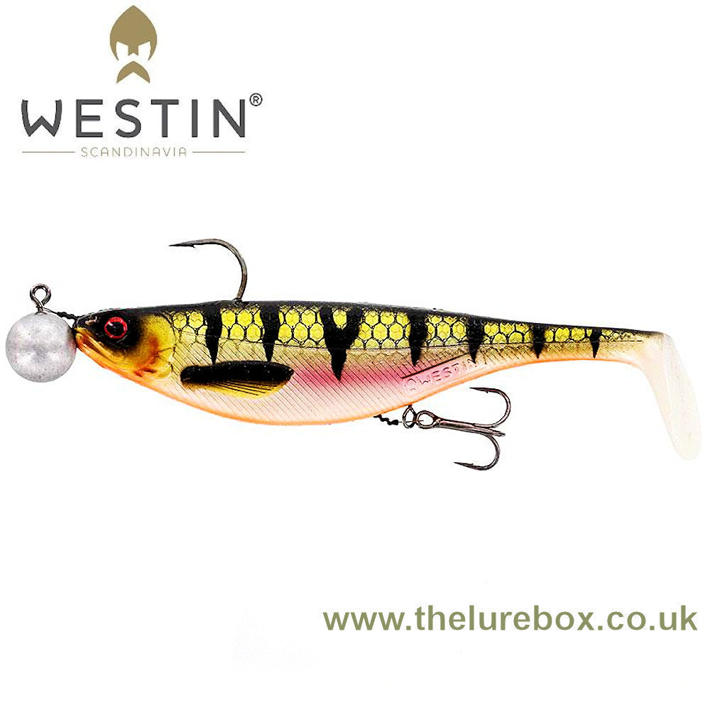 Westin Shad Teez 12cm Rigged 'N Ready - The Lure Box
