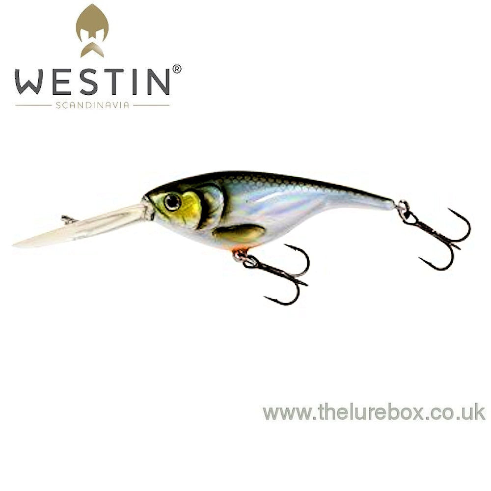 Westin babybite dr 6,5cm 13g floating lure bass perch rattle ultra sonic