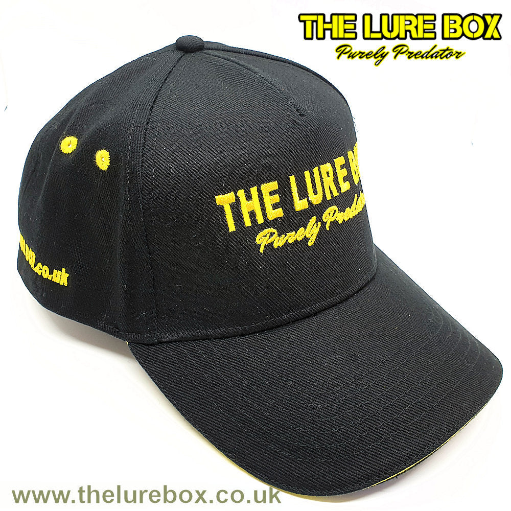 The Lure Box Official Cap - Black