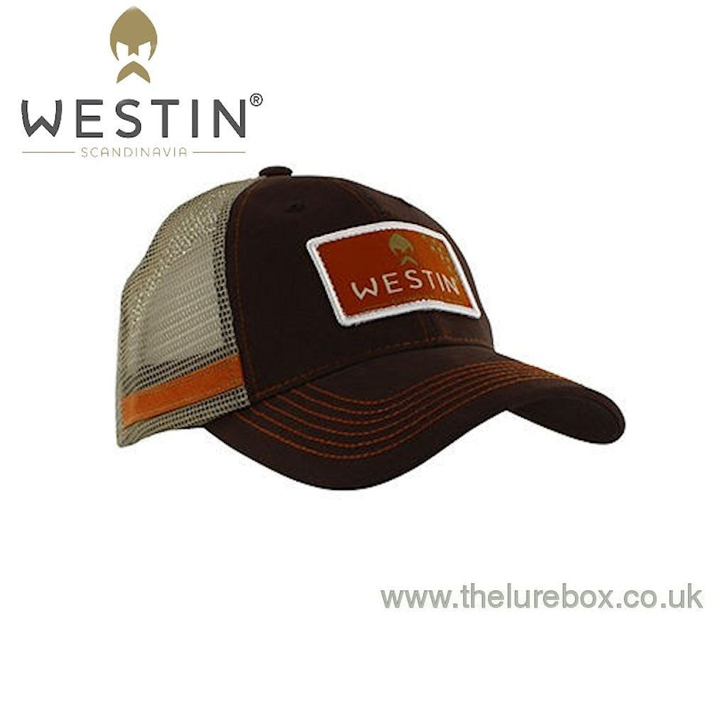 Westin Hillbilly Trucker Cap Brown - The Lure Box