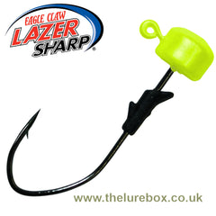 Eagle Claw Lazer Sharp Pro V Finesse Ned Jig Heads - Chartreuse - The Lure Box
