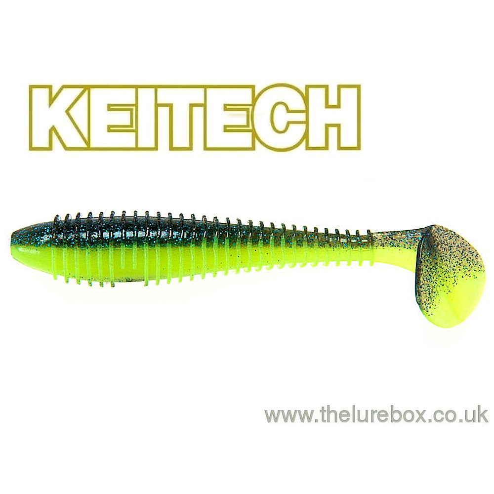 "Keitech Fat Swing Impact 3.3"" - The Lure Box"