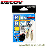 Decoy Plus Blade Willow Leaf Silver - The Lure Box