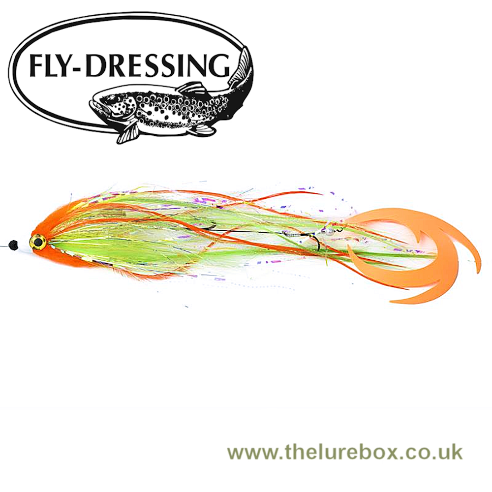 Dobb Daddy Spin Fly With Dragon Tail & Bauer Pike Rig