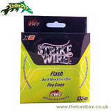 Strike Pro Strike Wire Flash X8 Braid - Fluro Green - The Lure Box